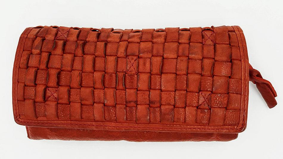 85355c38f60 Cartera Piel lavada roja - Achitabla Madrid